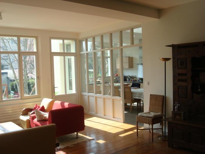 extension traditionnelle agence 3d. Black Bedroom Furniture Sets. Home Design Ideas